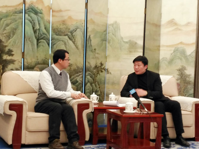 谭爷会客厅《2018丝路盛典》名家专访-陈建旭
