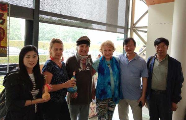 著名艺术家孟多昕应邀携作品赴法艺术交流展览