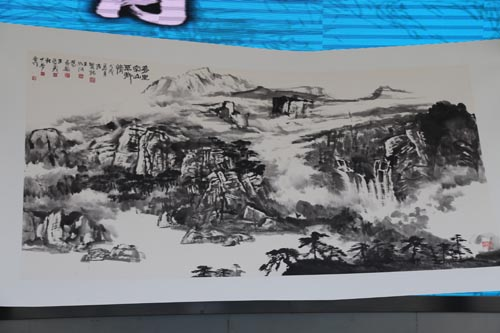 """青山绿水赞——""""生态山西 走进绿色""""大型诗书画作品展太原开幕"""