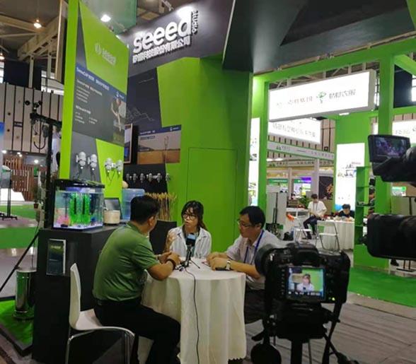 第四届南京智慧农业博览会企业专访-矽递科技